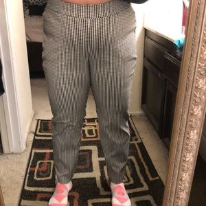 Checkered Allie trouser pants